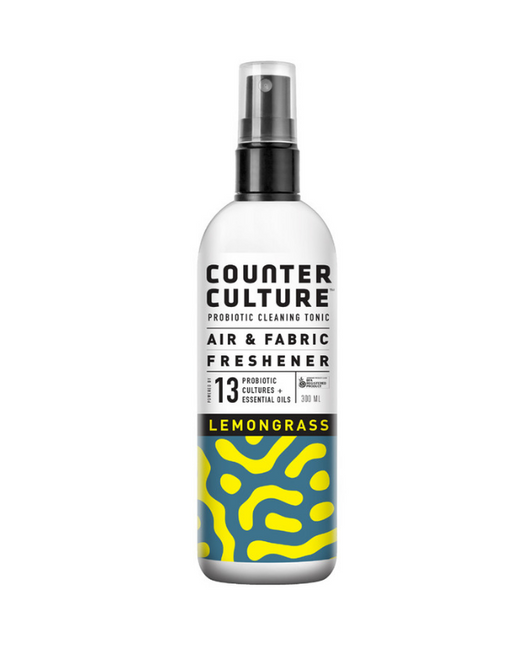 Counter Culture - Probiotic Air + Fabric Freshener Lemongrass 300mL