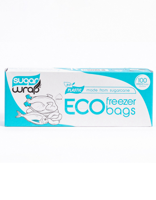SugarWrap - Eco Freezer Bags Medium 100 pack