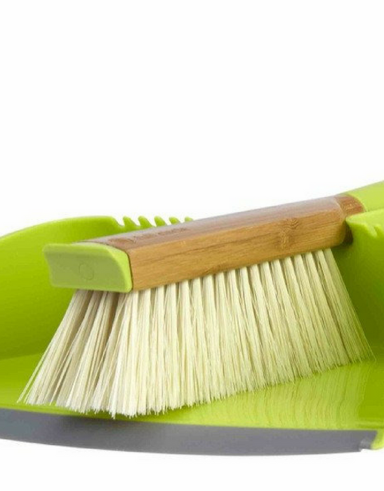 FULL CIRCLE - CLEAN TEAM Dustpan and Brush Set