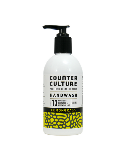 Counter Culture - Probiotic Lemongrass Hand Wash 300mL