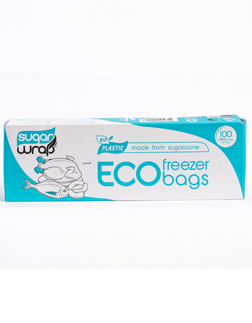 SugarWrap - Eco Freezer Bags Large 100 pack