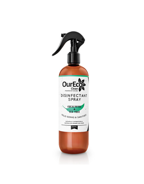 OurEco Clean - Disinfectant Spray Eucalyptus + Tea Tree 500ml