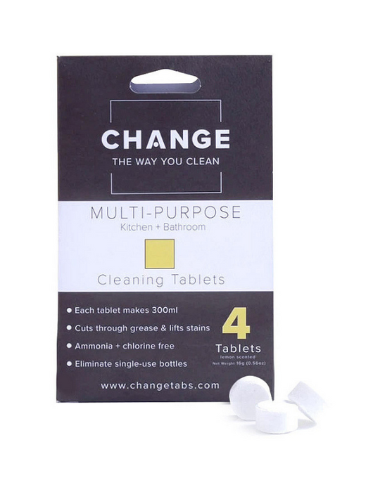Change - Multipurpose Cleaning Tablets - 4 pack