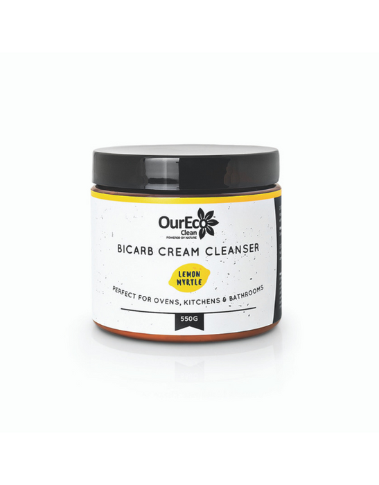 OurEco Clean - BiCarb Cream Cleanser Lemon Myrtle 550g