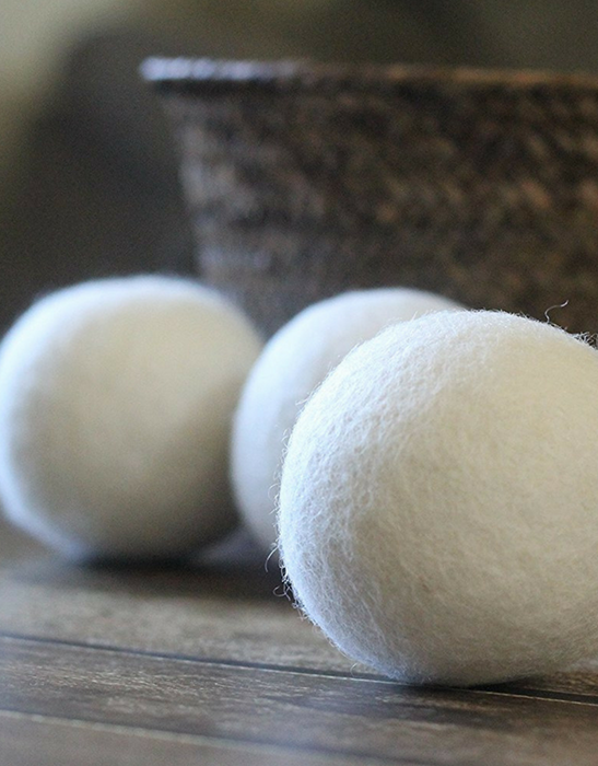 Wooly Mates – Wool Laundry Tumble Dryer Balls (6 pack)