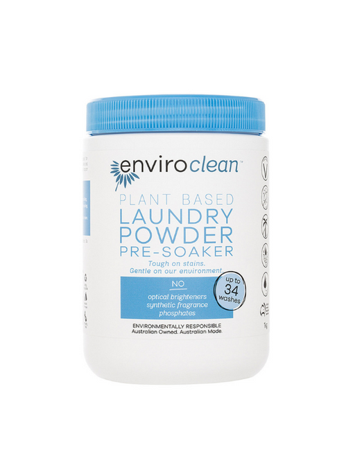 EnviroClean - Plant Based Laundry Powder Pre-Soaker 1kg