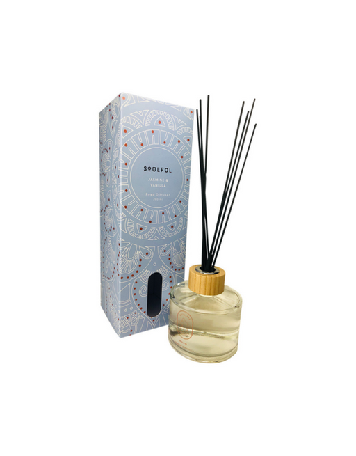 Distillery Fragrance House - Reed Diffuser Soulful (Jasmine & Vanilla) 200ml