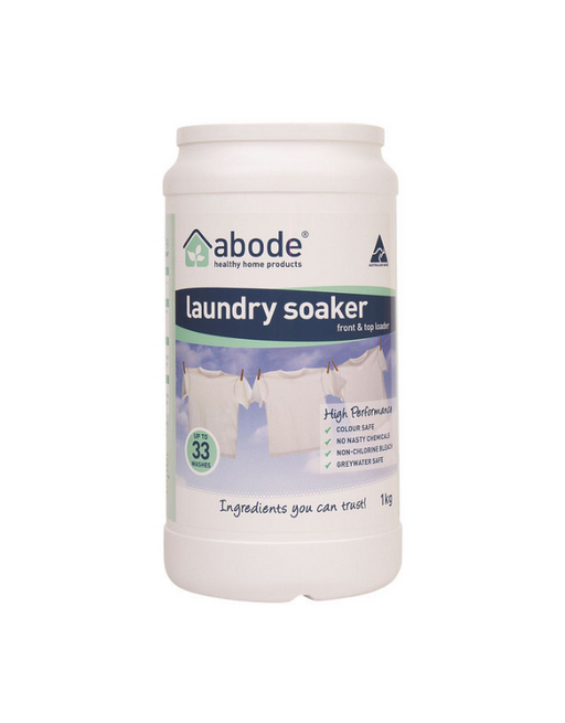 Abode - Laundry Soaker (Front & Top Loader) High Performance 1kg