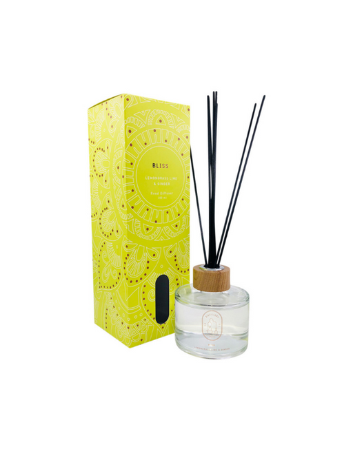 Distillery Fragrance House - Reed Diffuser Bliss (Lemongrass Lime & Ginger) 200ml