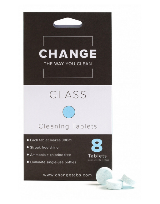 Change - Glass Cleaning Tablets - 8 pack
