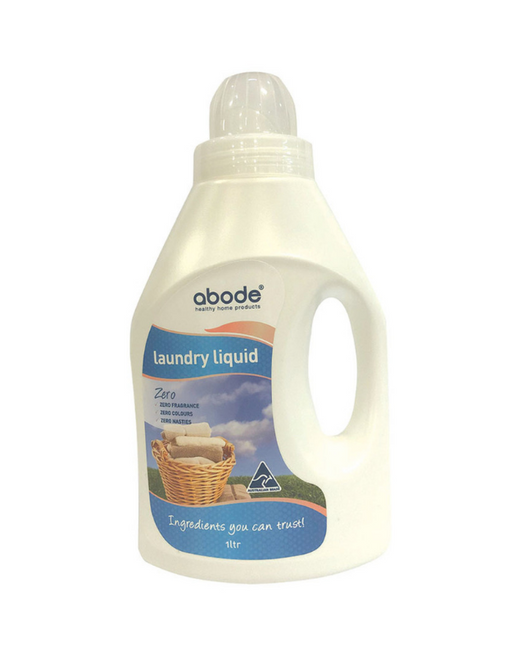 Abode - Laundry Liquid (Front & Top Loader) Zero 1L