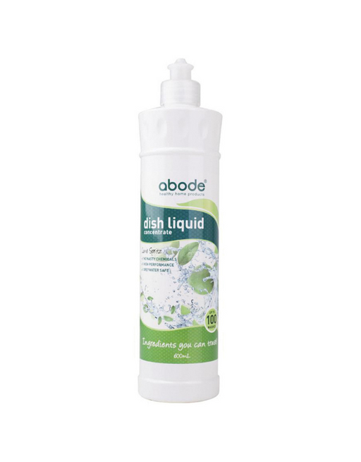 Abode - Dish Liquid Concentrate Lime Spritz 600ml