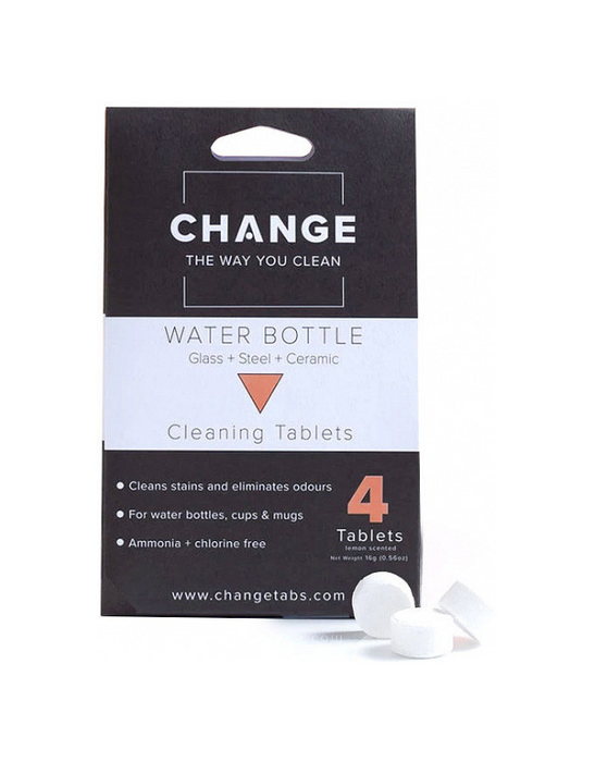 Change - Water Bottle Cleaning Tablets - 4 pack