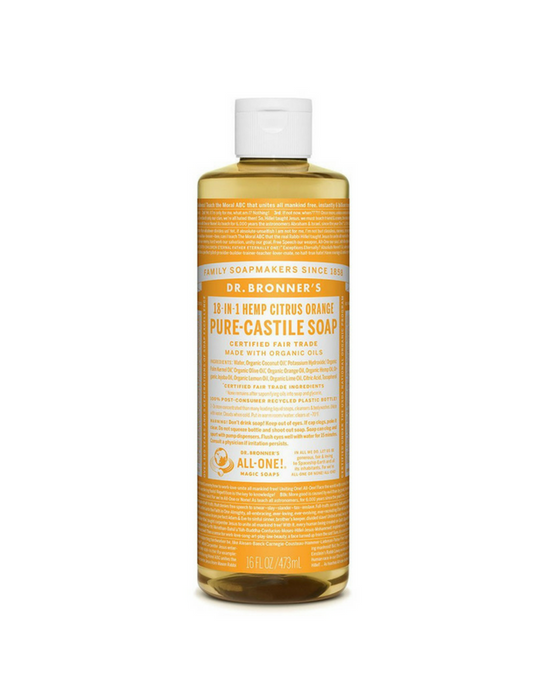 Dr. Bronner's Pure-Castile Liquid Soap - Citrus Orange