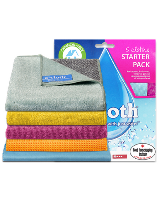 e-cloth 5 Cloths Starter Pack - Multi Pack