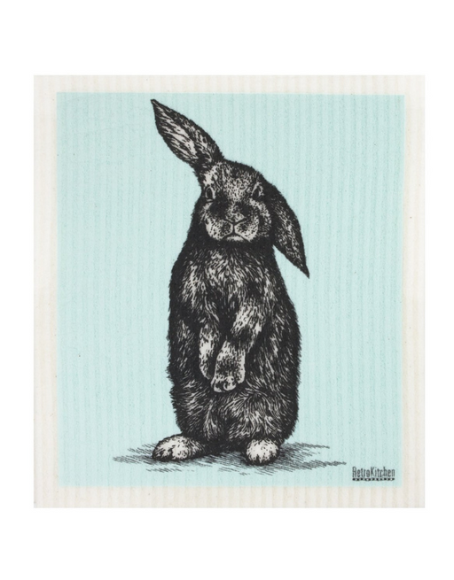 Retro Kitchen - Swedish Dishcloth Rabbit