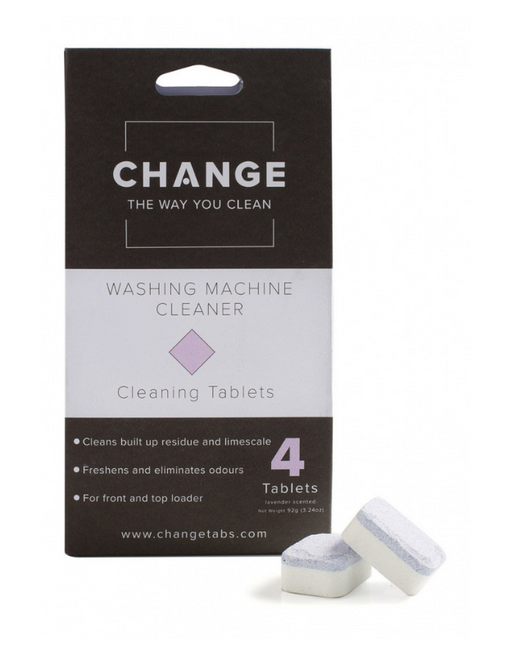 Change - Washing Machine Cleaning Tablets - 4 pack