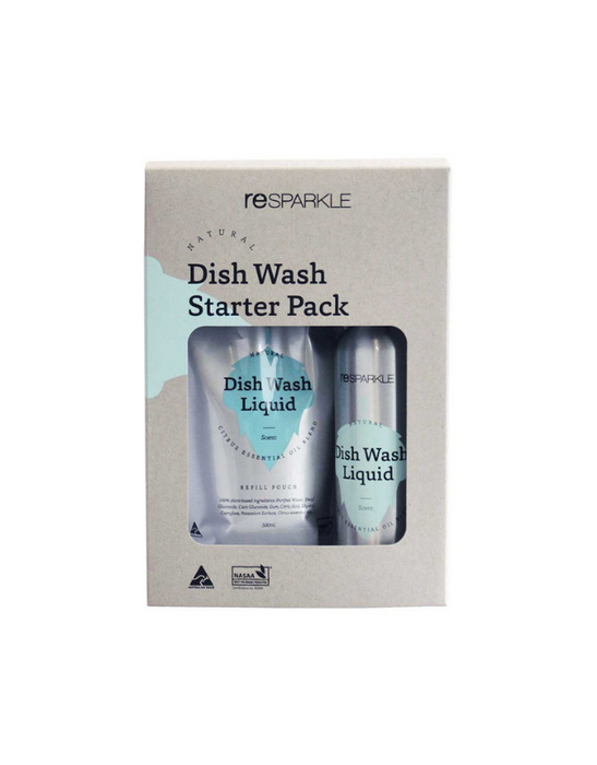 Resparkle - Natural Dish Wash Liquid Starter Pack
