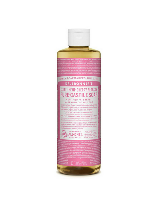 Dr. Bronner's Pure-Castile Liquid Soap - Cherry Blossom