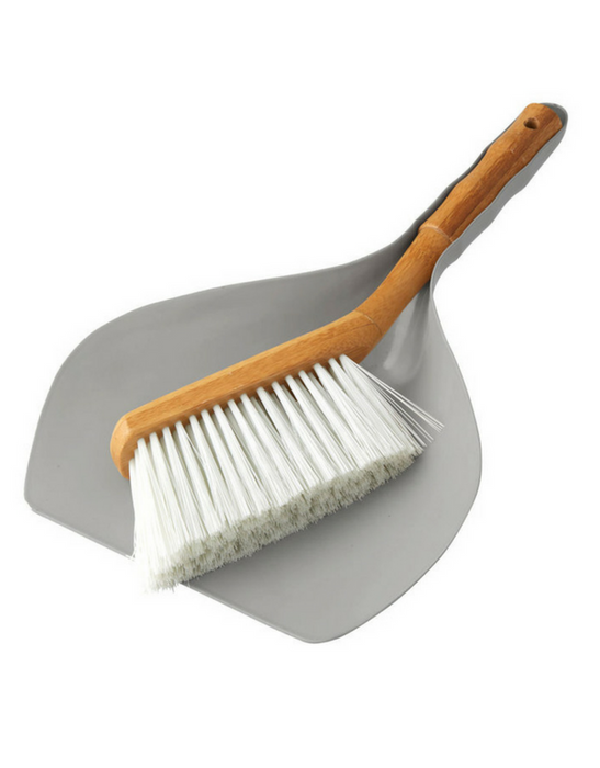 Clean Smart - Earth Bamboo Dustpan/Brush Set