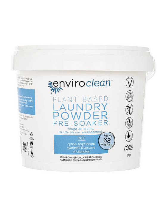 EnviroClean - Plant Based Laundry Powder and Pre-Soaker 2kg