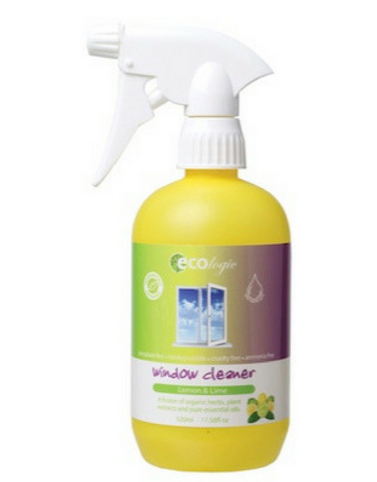 ECOlogic- Window Cleaner - Lemon & Lime 520ML