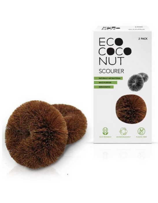 EcoCoconut - Twin Pack Scourers
