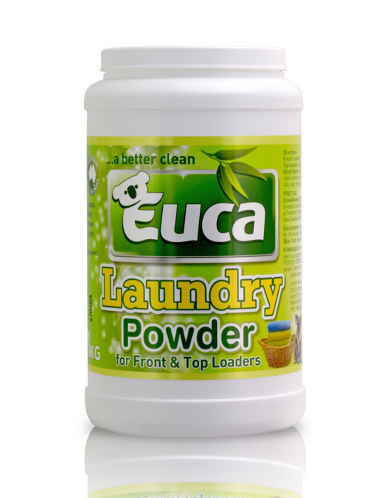 Euca - Premium Laundry Powder Concentrate Detergent 1kg