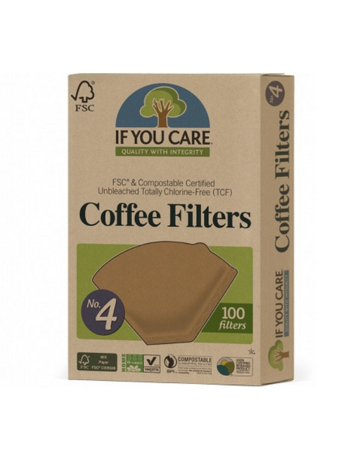 If You Care - Coffee Filters No.4 100Filters