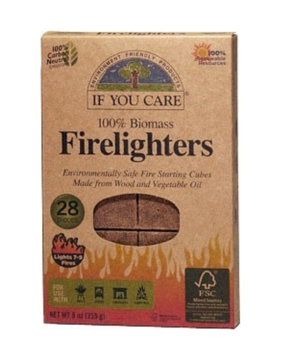If You Care - Firelighters 28 Cubes
