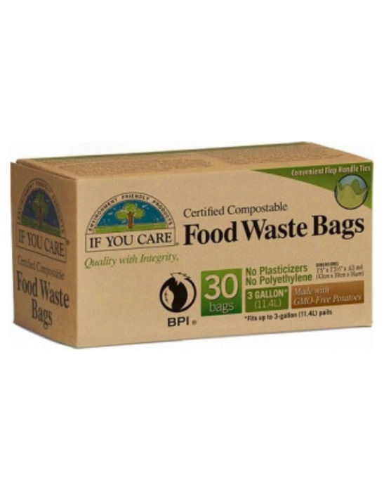 If You Care - Food Waste Bags 30Bags (3 Gallon)