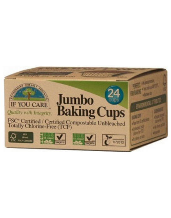 If You Care - Jumbo Baking Cups 24Pcs