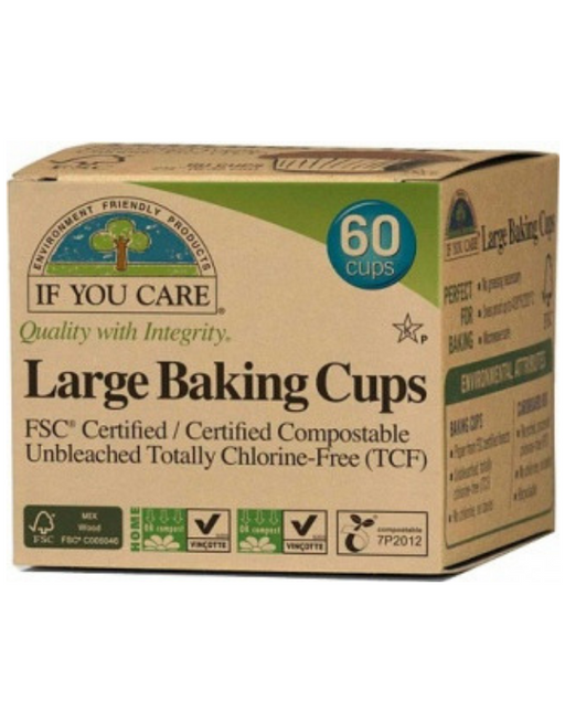 If You Care - Large Baking Cups 60Pcs