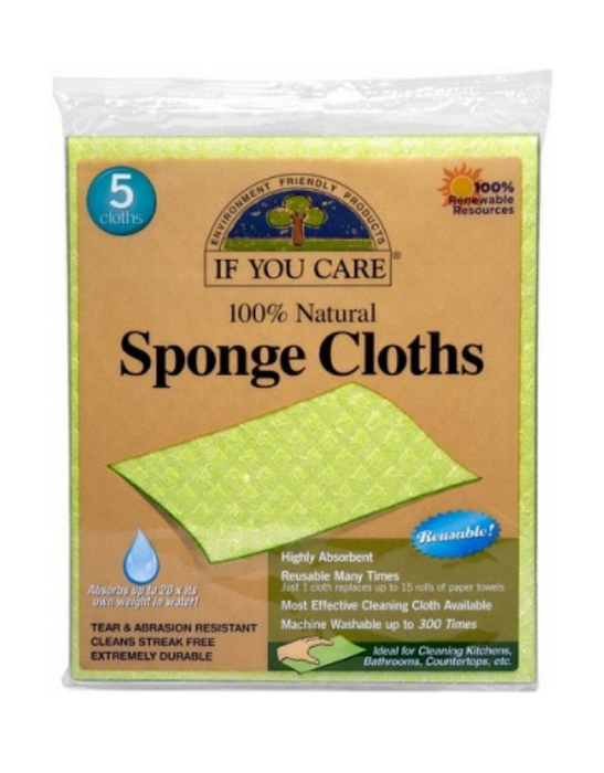 If You Care - Natural Sponge Cloths