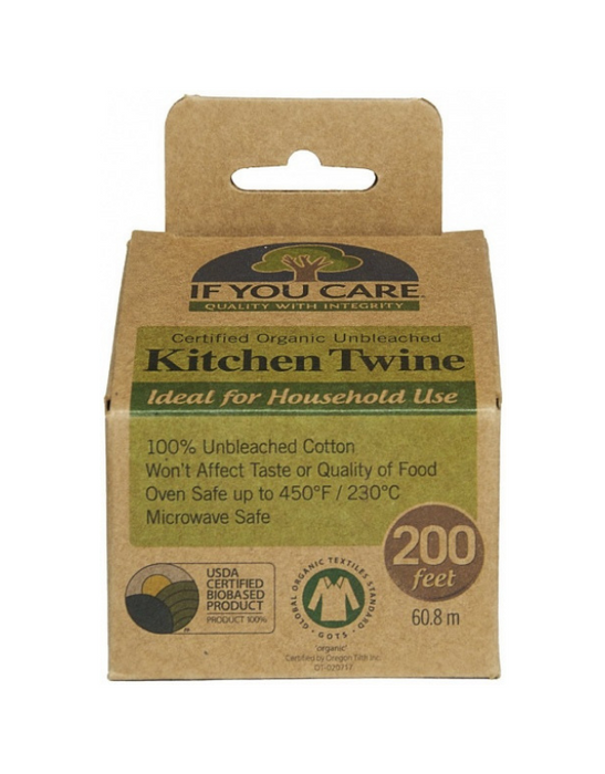 If You Care - Organic Unbleached Kitchen Twine 60.8m