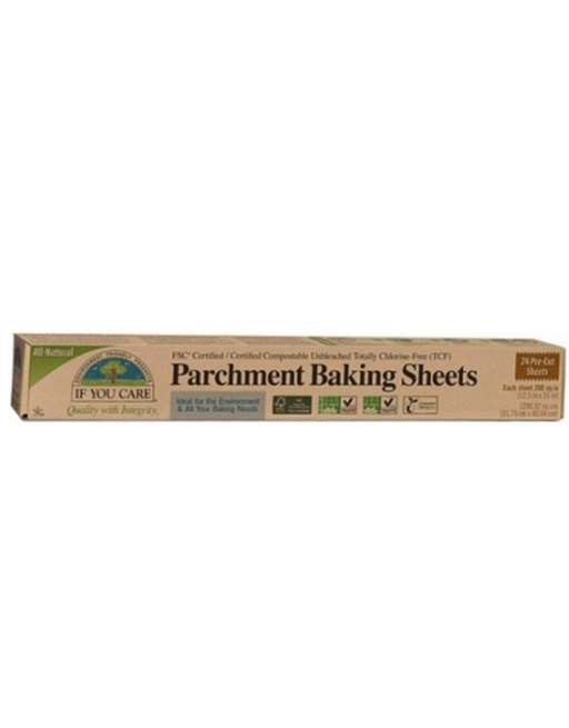 If You Care - Parchment Baking Paper Sheets 24 Sheets