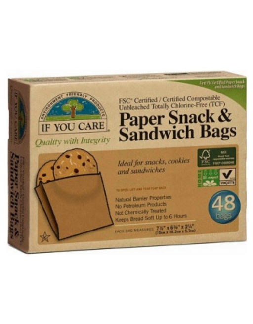 If You Care - Sandwich Bags 48Pcs