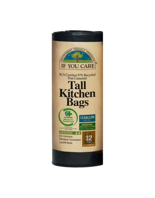 If You Care - Tall Kitchen Bags 12Bags (13 Gallon)