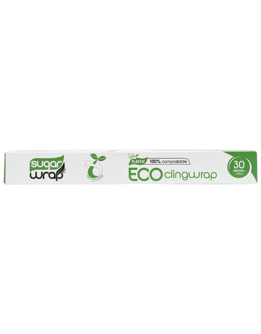 SugarWrap - Eco Cling Wrap 100% Compostable 30m x 33cm