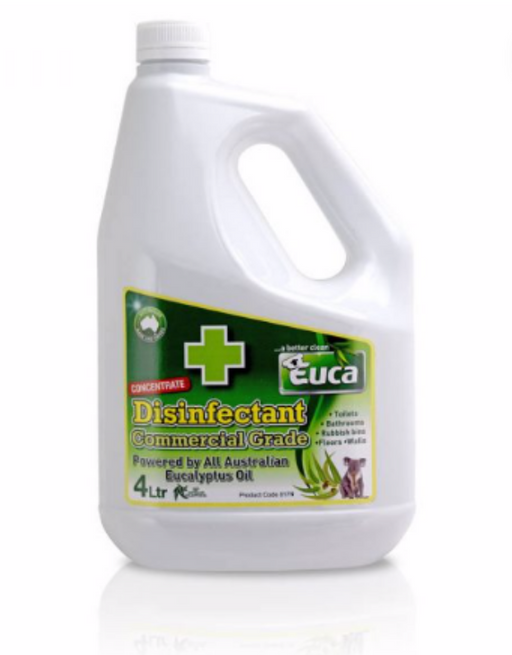 Euca - Disinfectant Commercial Grade Cleaner 4L