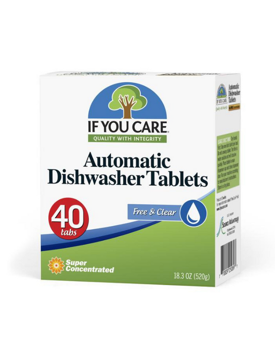If You Care - Automatic Dishwasher Tablets 40pce