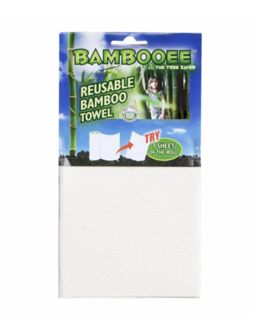 BAMBOOEE Reusable Bamboo Towel Single Sheet - Extra Thick