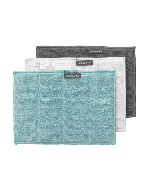 Brabantia - Microfibre Cleaning Pads - Set of 3