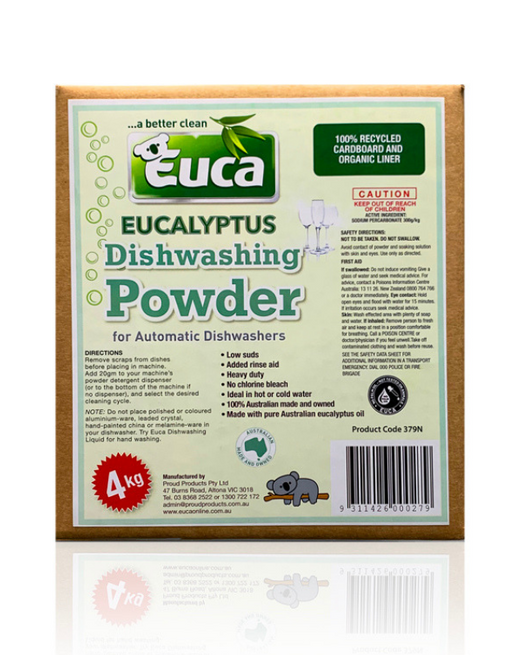 Euca - Eucalyptus Dish Washing powder Concentrate 4kg