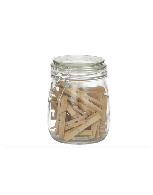 Pantry - Pegs in a Jar Set of 30