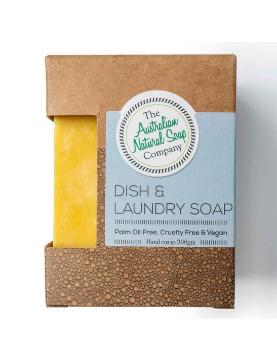 The Australian Natural Soap Company - Dish & Laundry Soap 200g