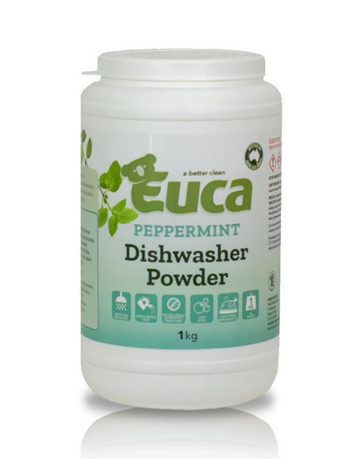 Euca - Peppermint Dish Washing Powder Concentrate 1kg