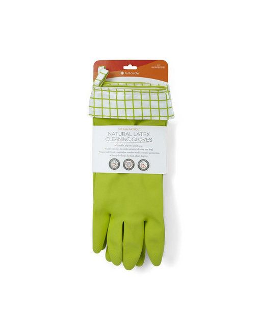 FULL CIRCLE - SPLASH PATROL – Natural Latex Cleaning Gloves