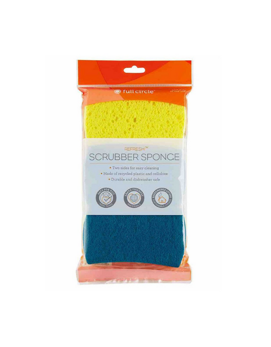FULL CIRCLE - REFRESH Scrubber Sponges - Set of 3