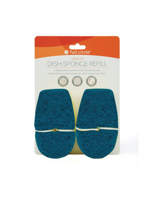 FULL CIRCLE - SUDS UP SPONGE REFILL Dish Sponge Refill with abrasive